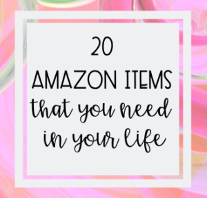 20 Amazon Items You Need In Your Life