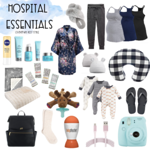 Hospital Bag + Postpartum Care